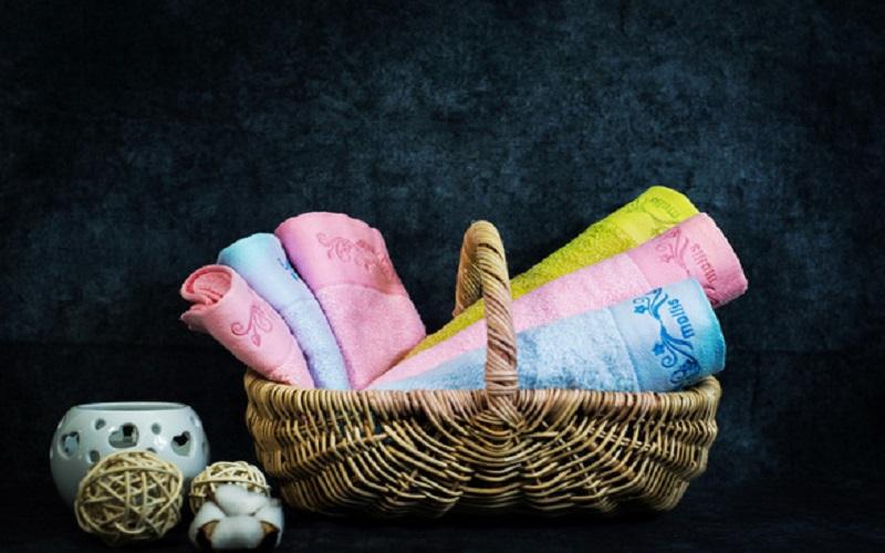 1tencel Ba chất liệu mới làm khăn tắm cao cấp